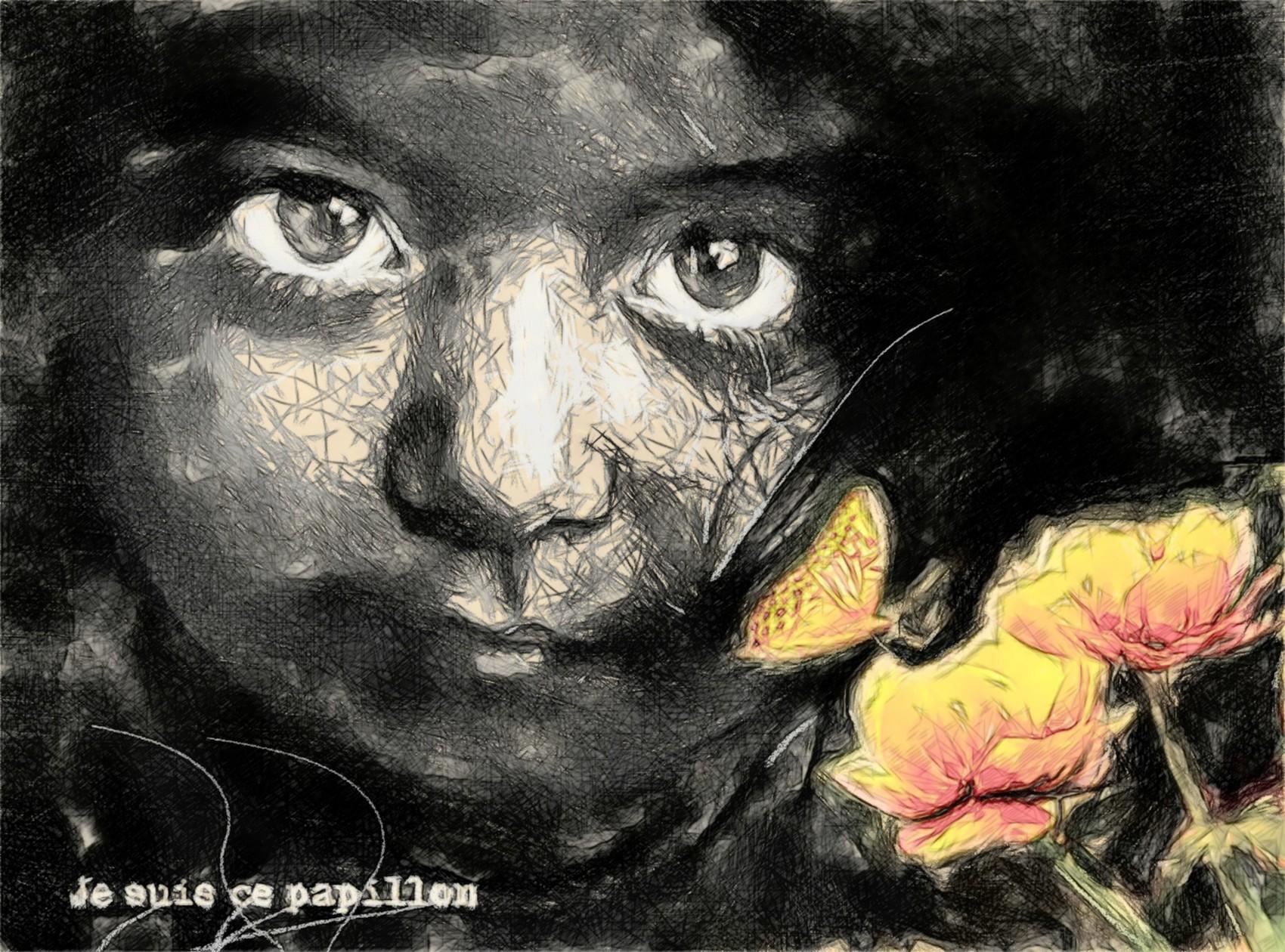 je suis ce papillon