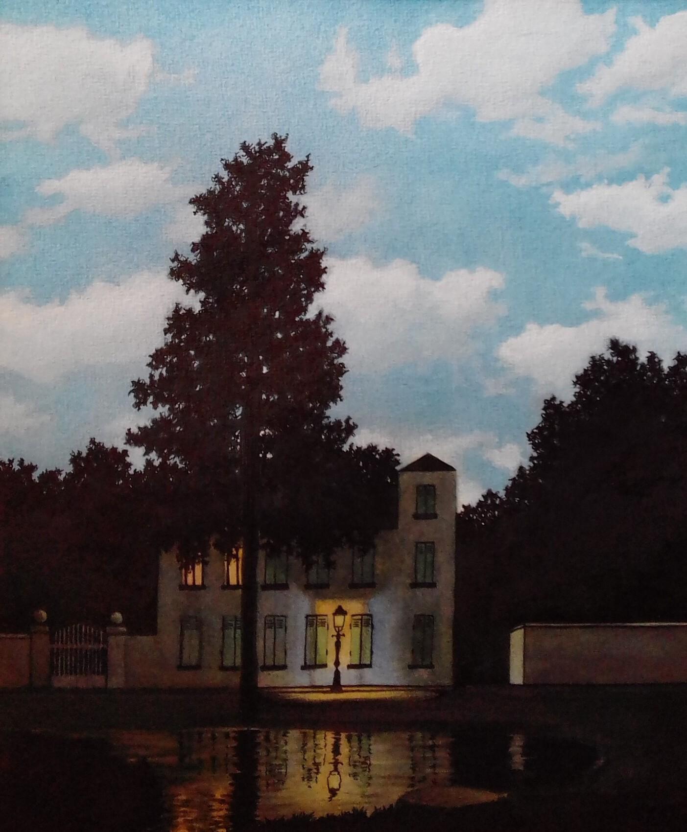 - Aquarelle d'après Magritte -