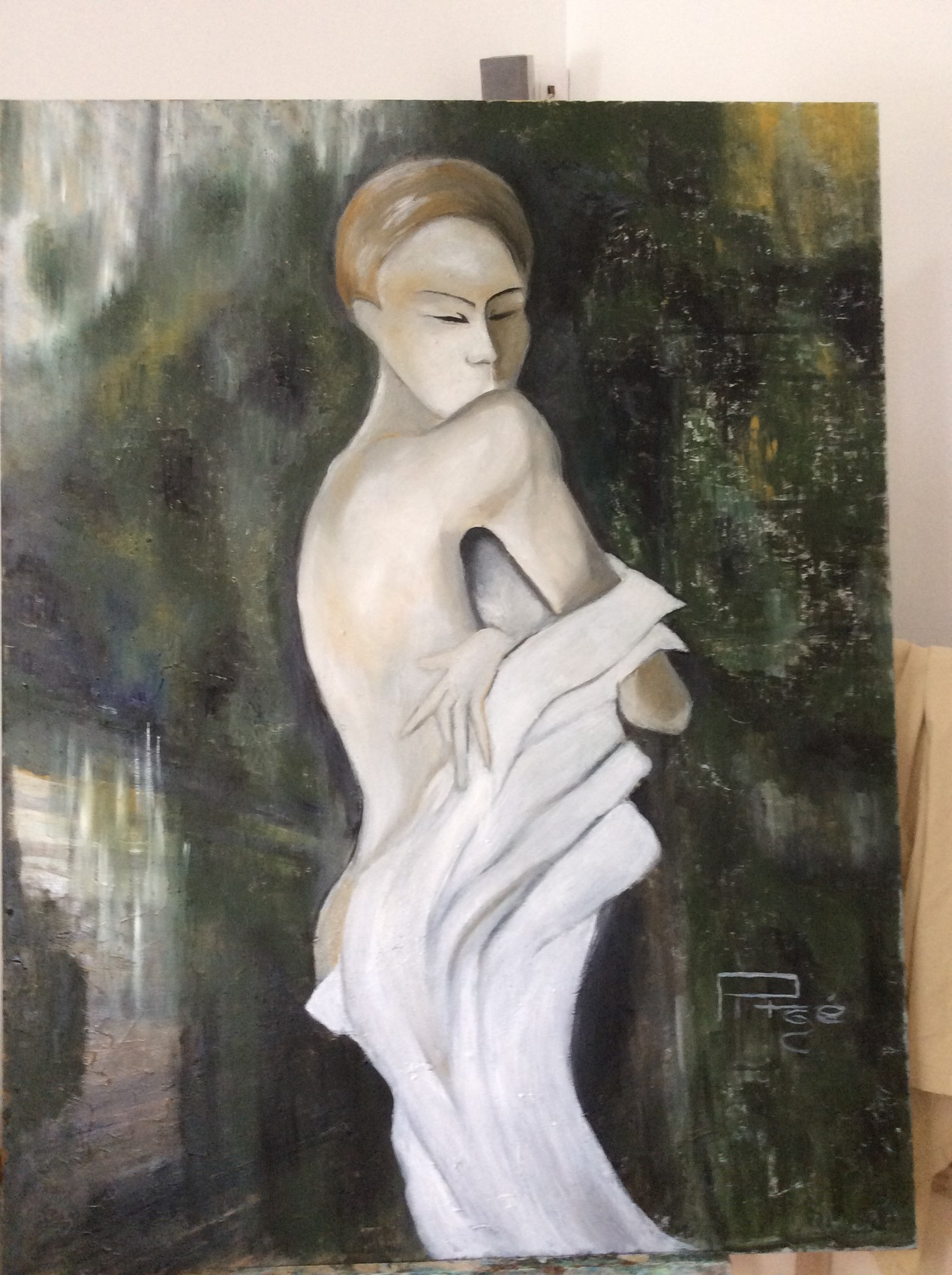 La fille au drap blanc