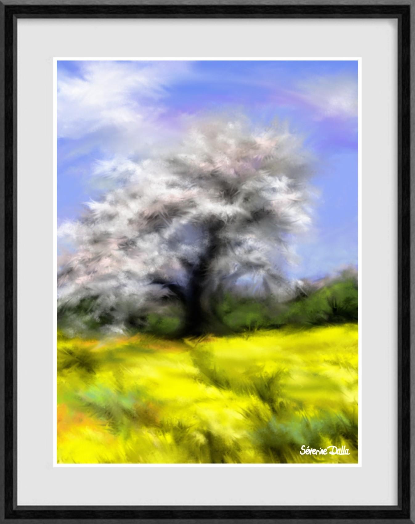 Peinture couleurs du printemps en pays de bray - Couleur du printemps ...