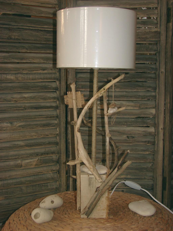autre lampe bois flott
