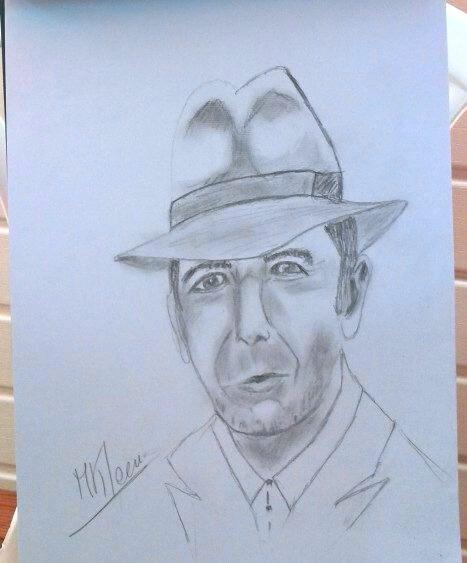 Léonard Cohen!