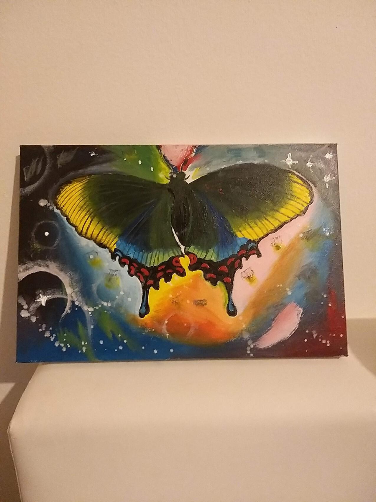 ???? Papillon en galaxie