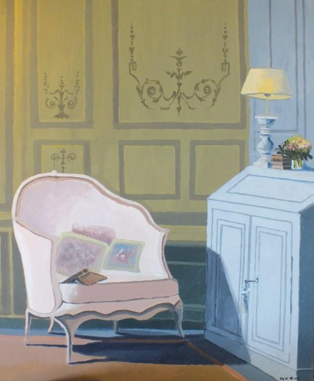 Peinture le petit salon for Le petit salon villereal