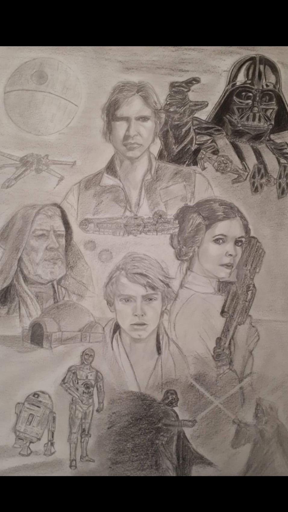 Dessin Star Wars