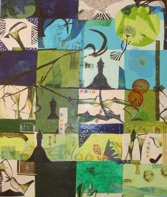 Peinture composition de couleurs froides - Couleurs chaudes et froides en peinture ...