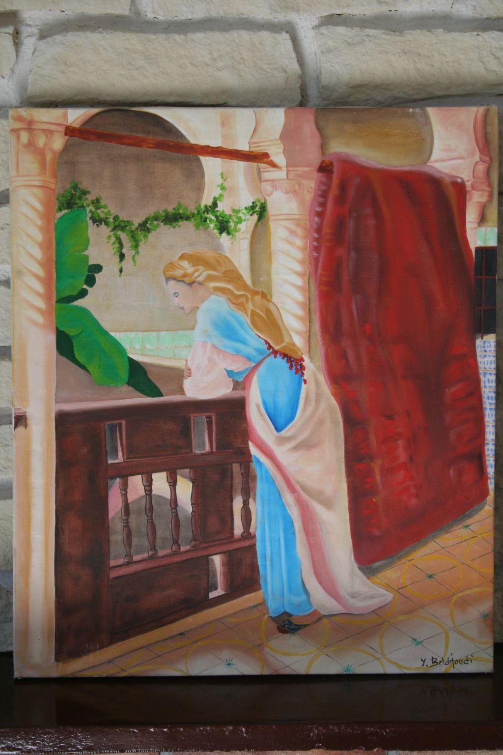 La femme algéroise à la Casbah