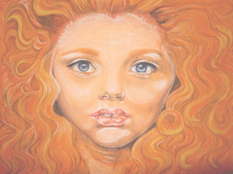 portrait orange