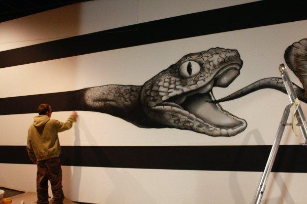 fresque musée d histoire naturel ( NE)