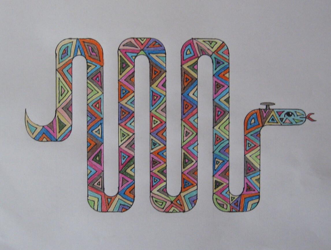 Serpent-calorifère