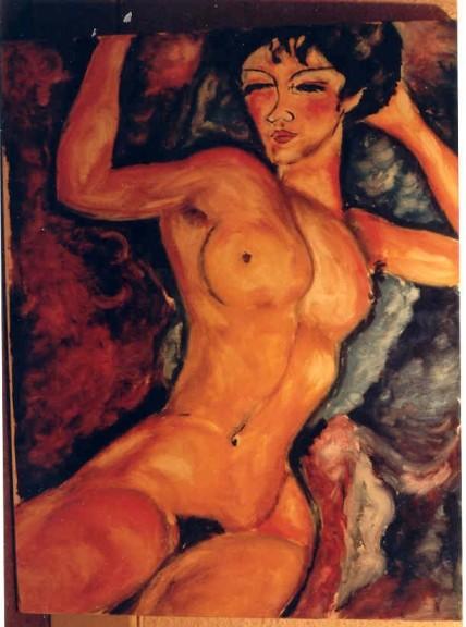 copie Nu Modigliani