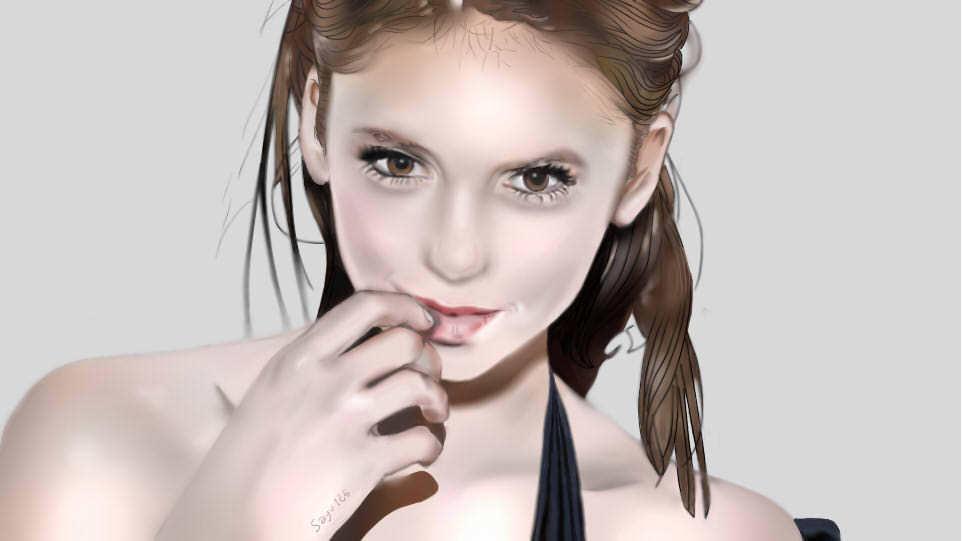 Peinture Nina Dobrev