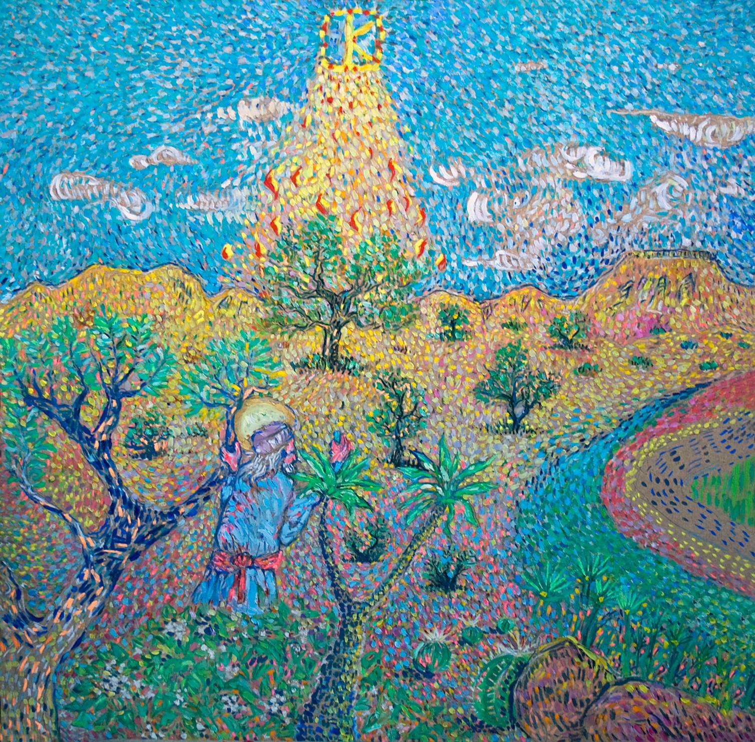 Moise et le buisson ardent