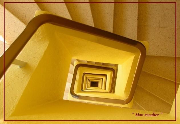 Escaliers...!