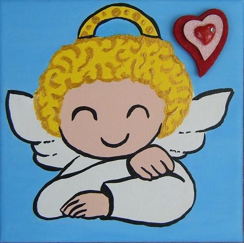 Petit angelot souriant