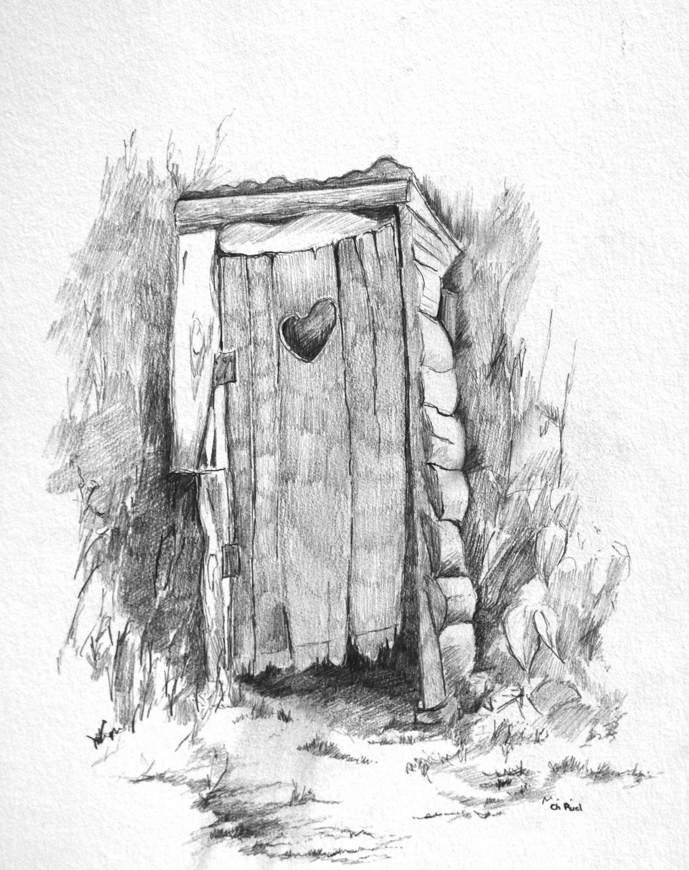 Dessin la cabane au fond du jardin - Dessin cabane ...