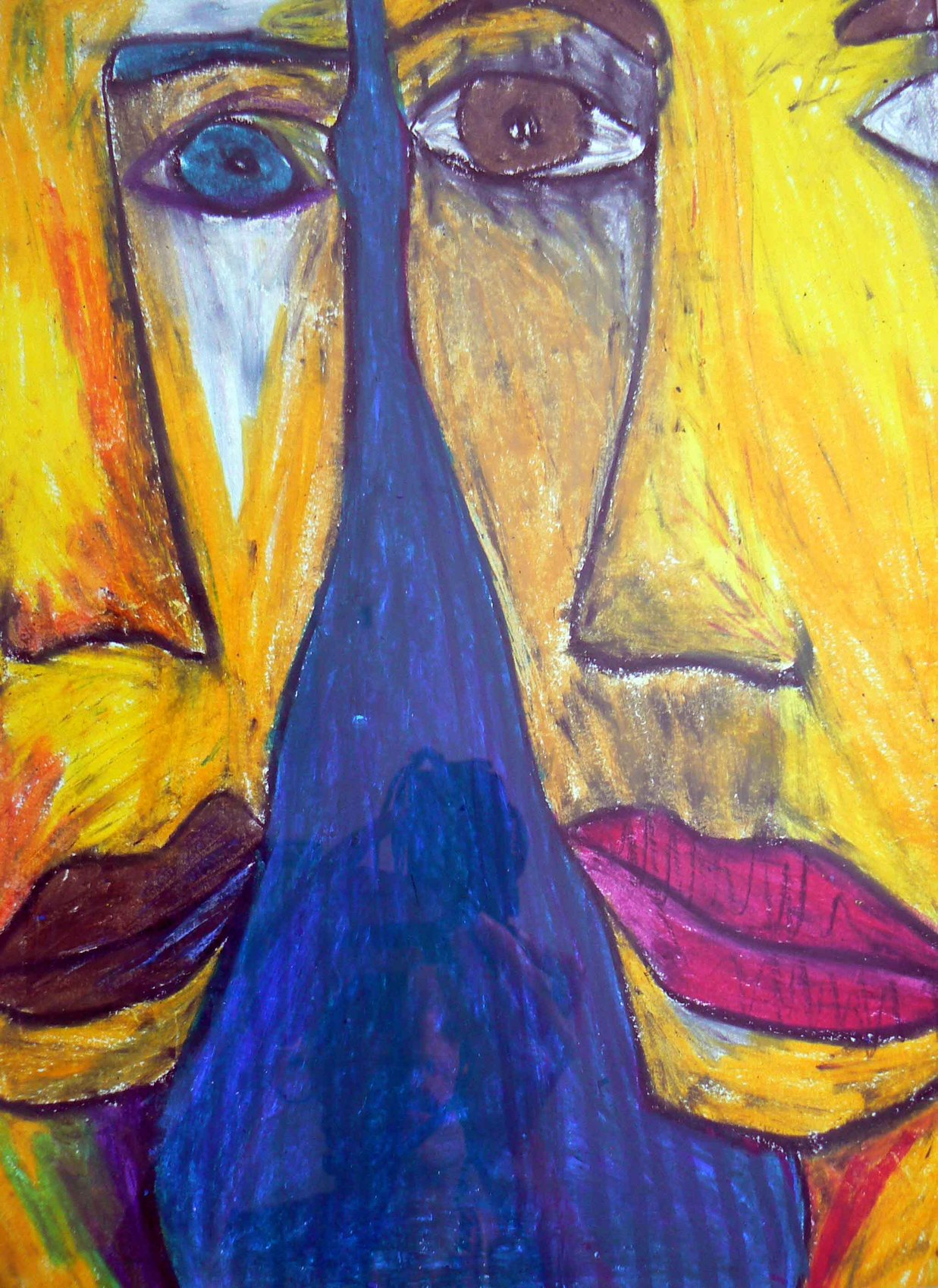 Deux visages