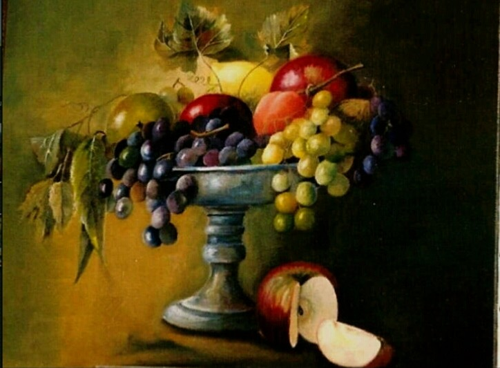 Peinture coupe de fruits - Jeux ou on coupe des fruits ...
