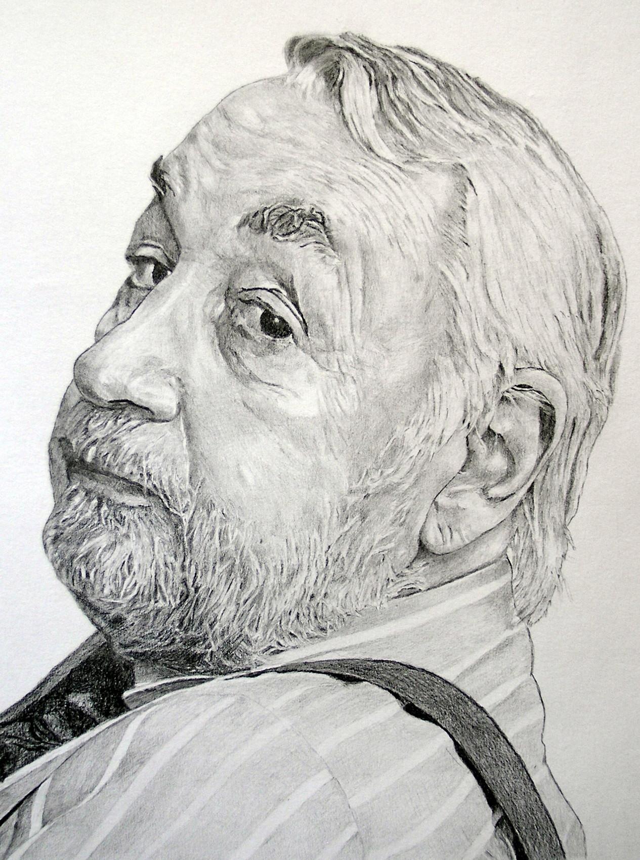 Le portrait de Philippe Noiret