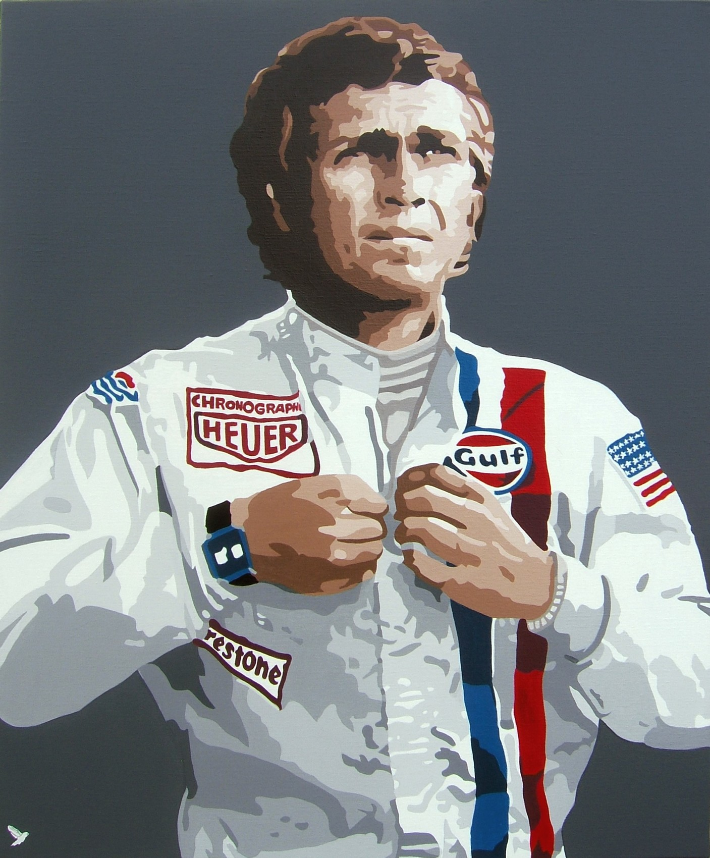 """Steve Mcqueen  """" Le Mans """""""