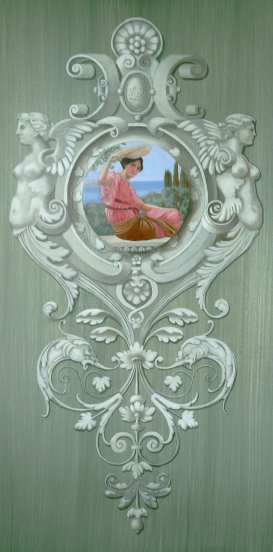 Peinture temps baroques panneau mural d coratif - Panneaux mural decoratif ...