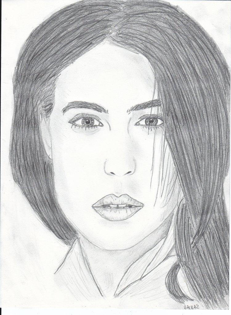 Dessin visage femme - Visage profil dessin ...