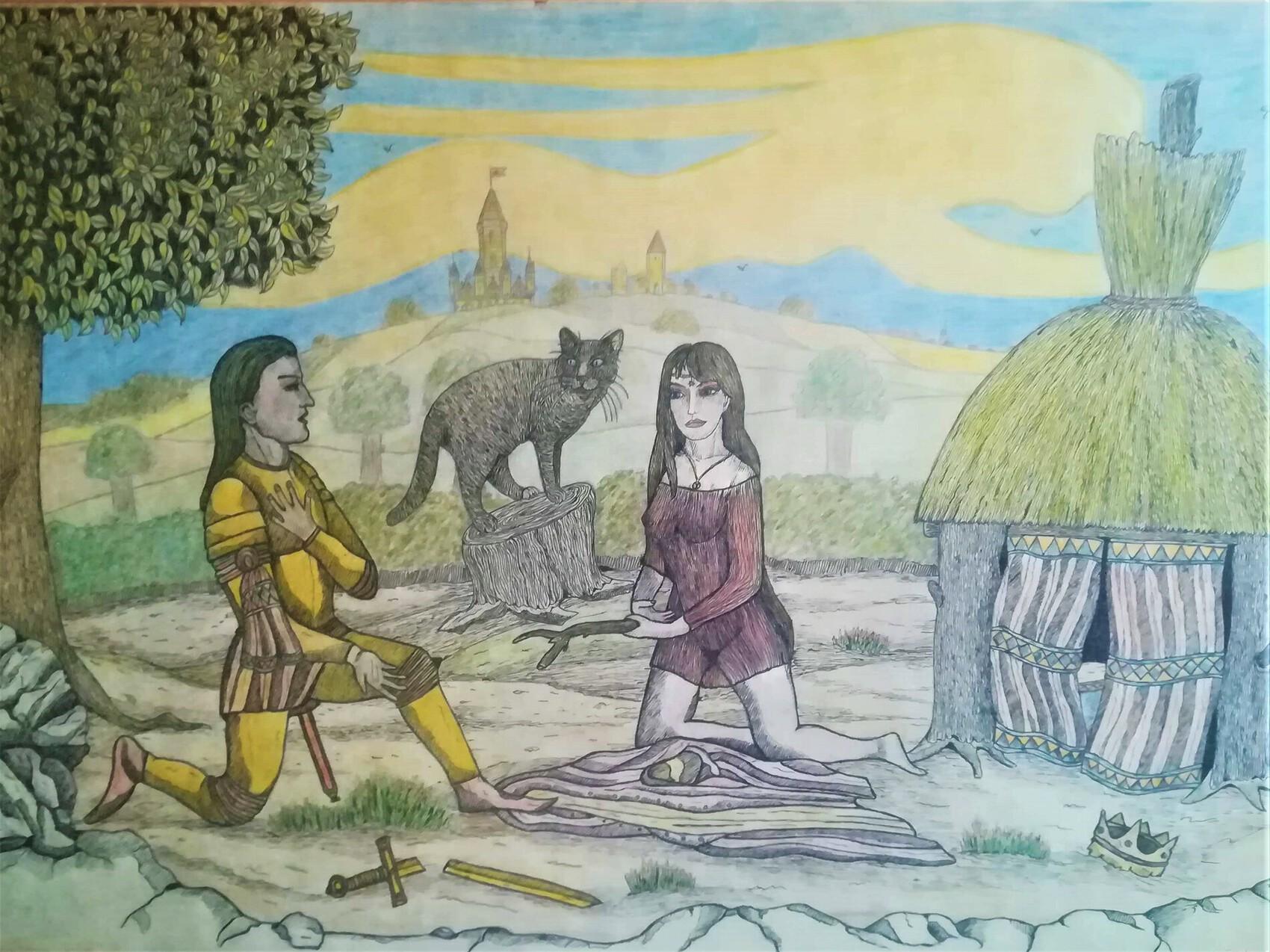 Arthur et Guenièvre