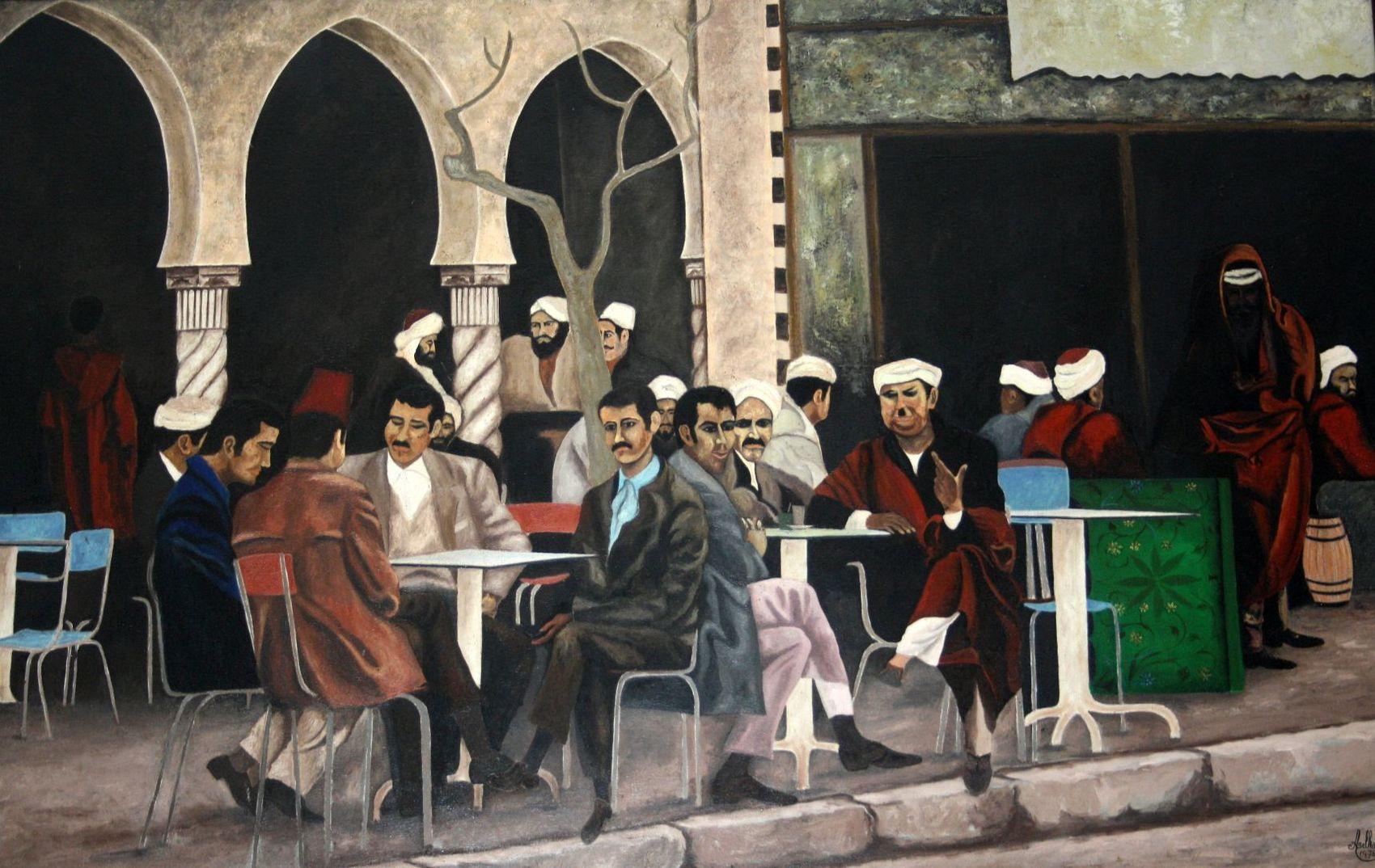 Le café Maure -1974