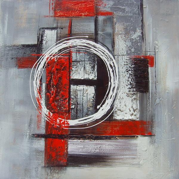 Peinture tableau abstrait moderne for Peinture toile moderne