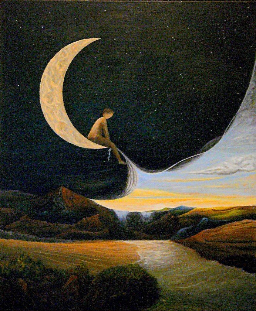 Une enfance dans la lune