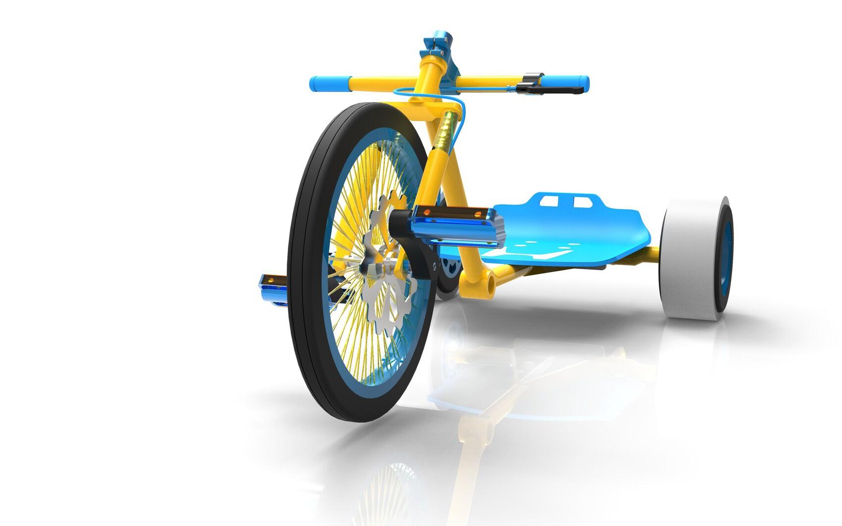 Modélisation 3d d' un vélo