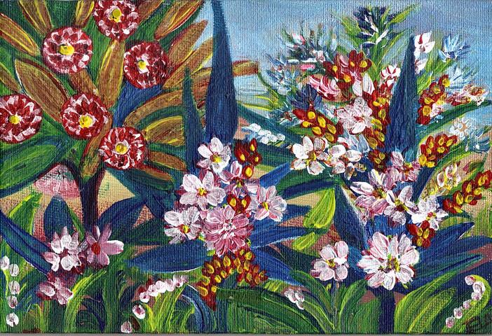 fleurs poissons