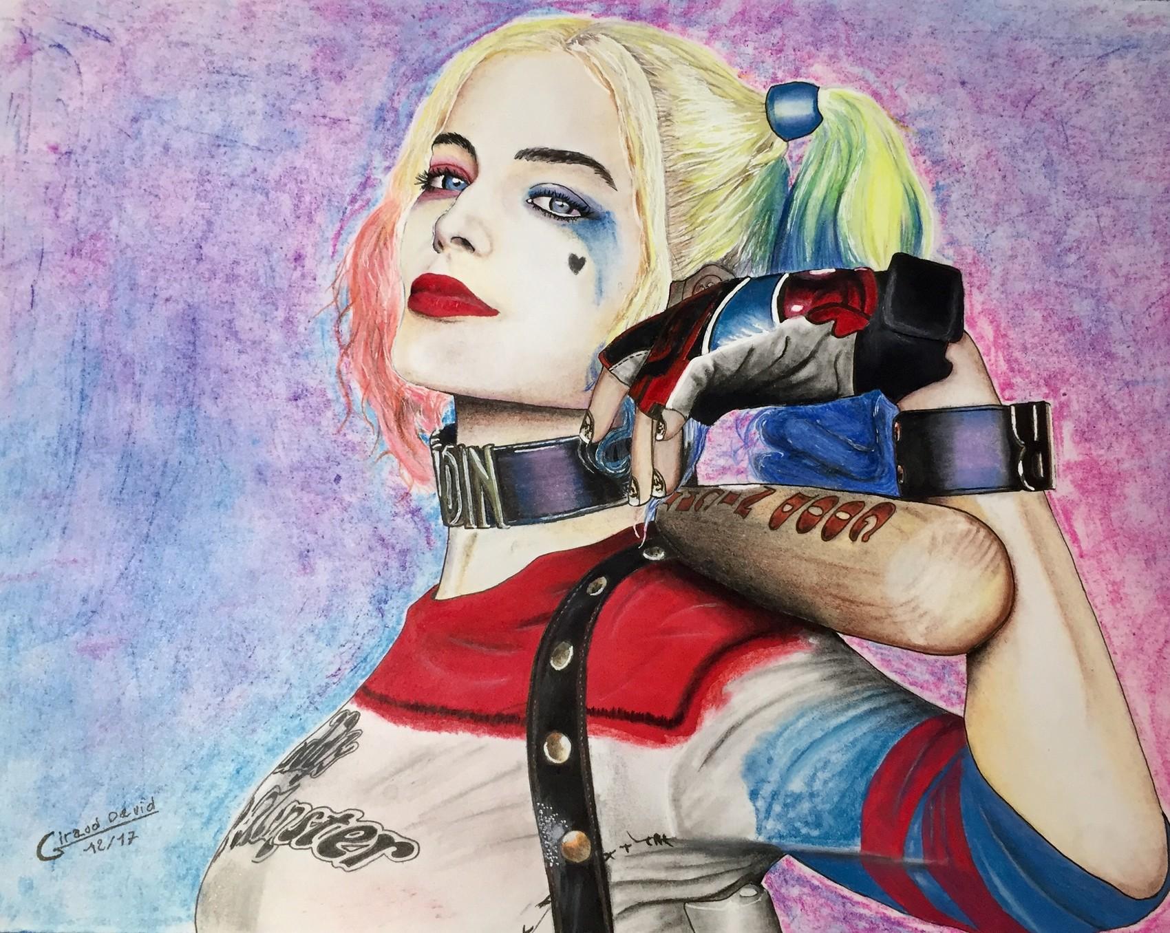 Dessin Harley quinn