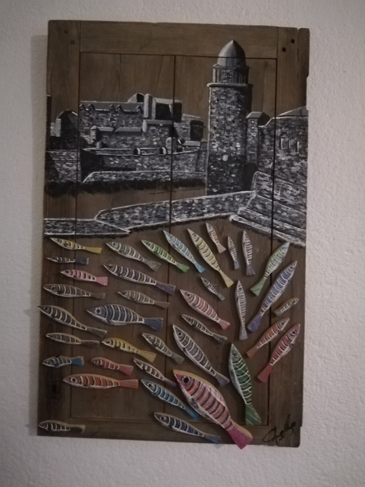 Collioure aux anchois