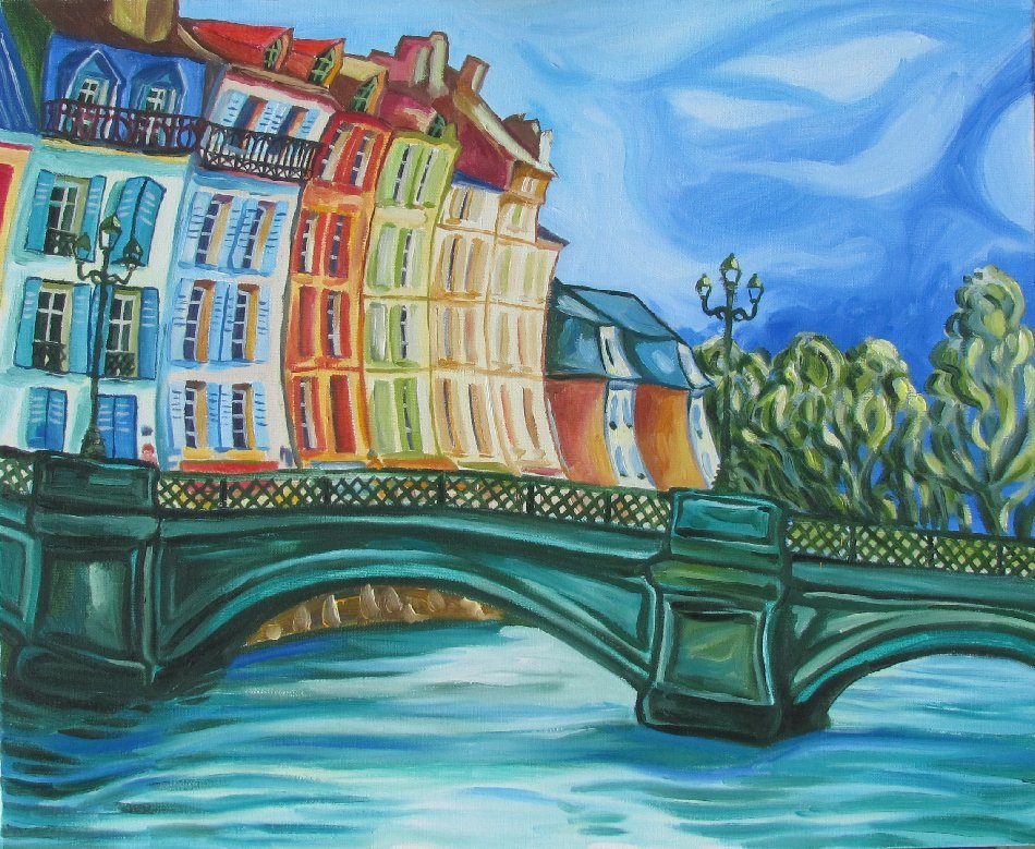 Peinture pont de bayonne - Peinture bayonne ...