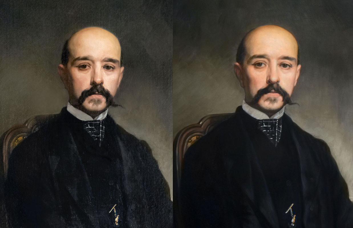 Copie de portrait