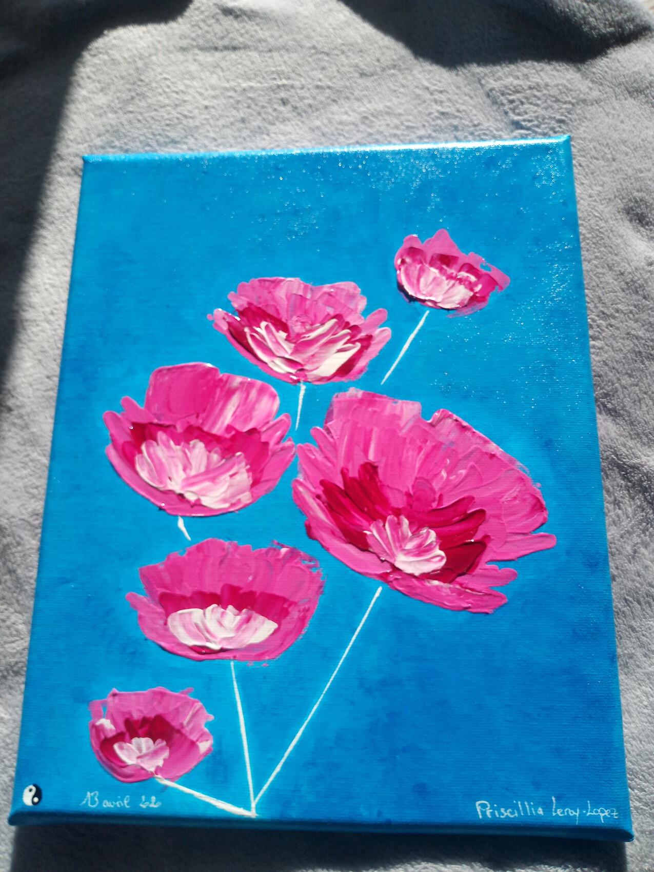 Peinture le printemps