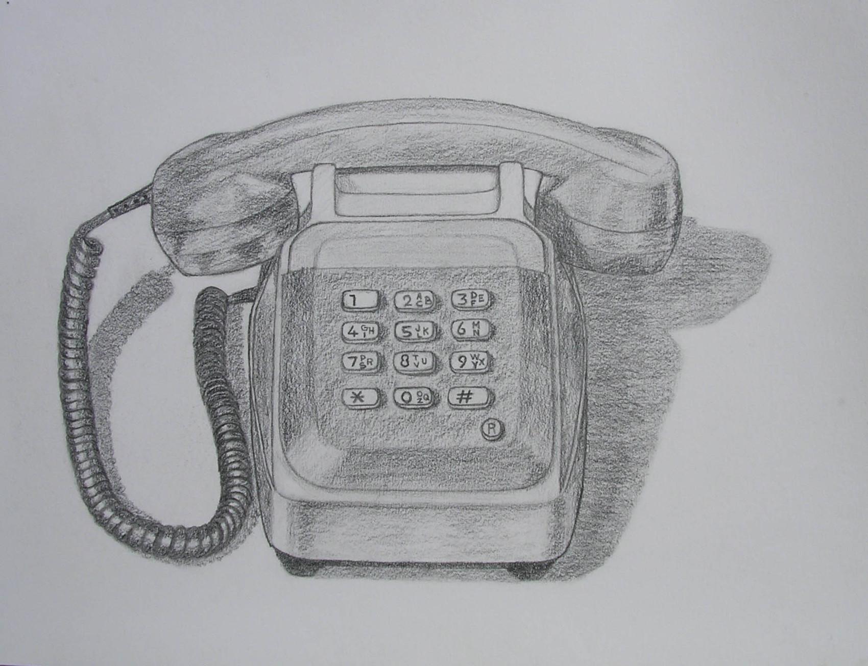 Dessin Téléphone