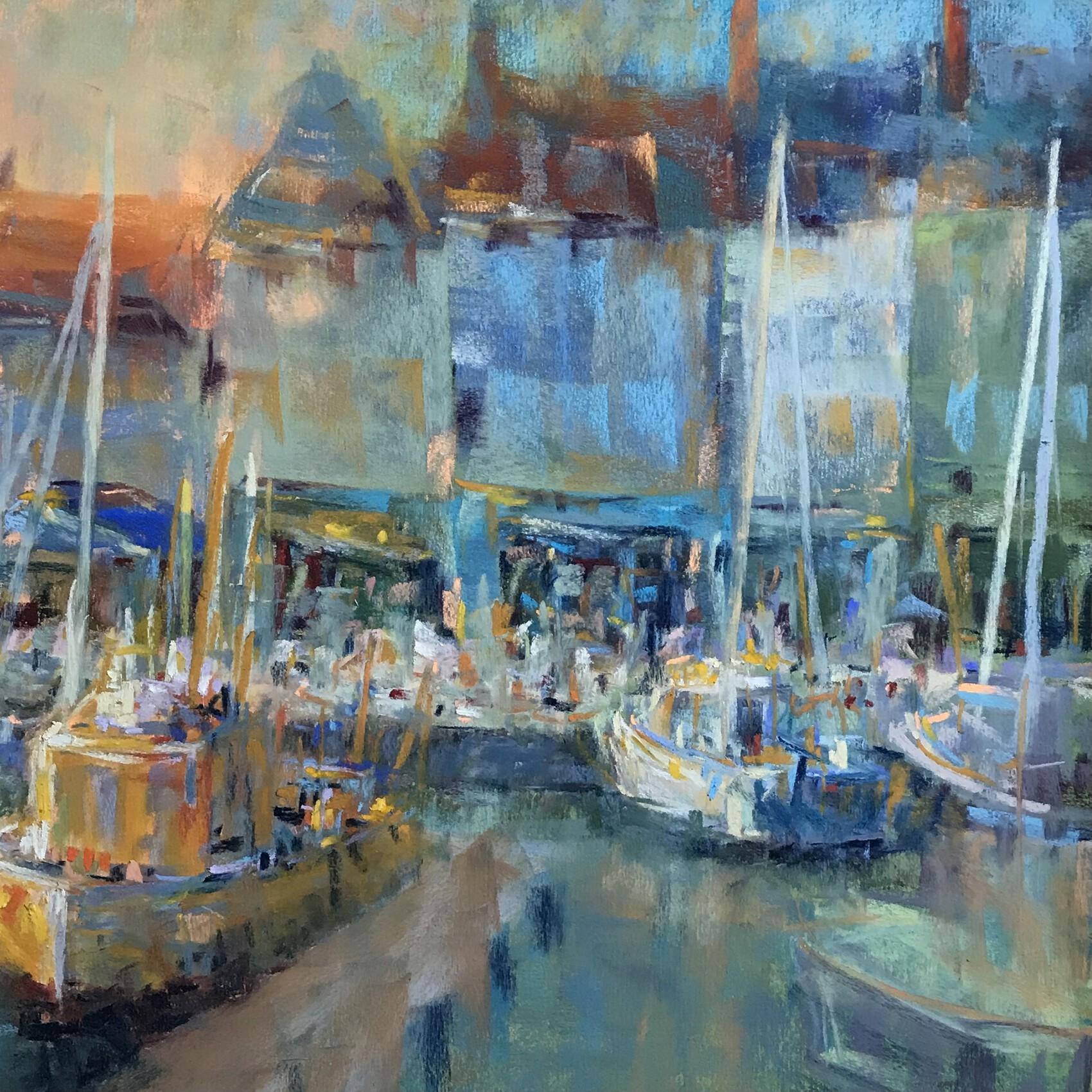 Le Croisic, vue du port