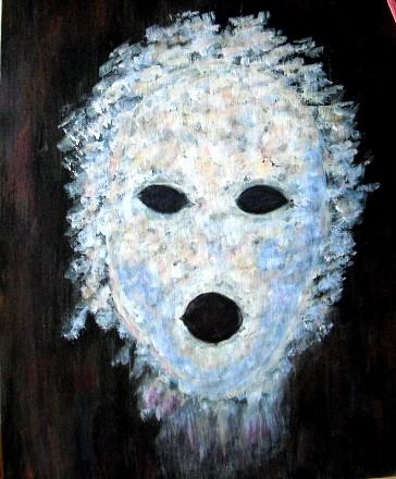 Peinture fant me masqu - Masque a peinture ...