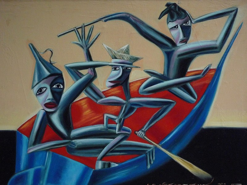 La Nef des Fous, 1987