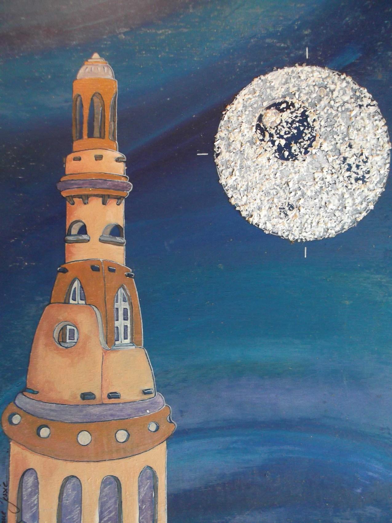 Peinture la tour de babel
