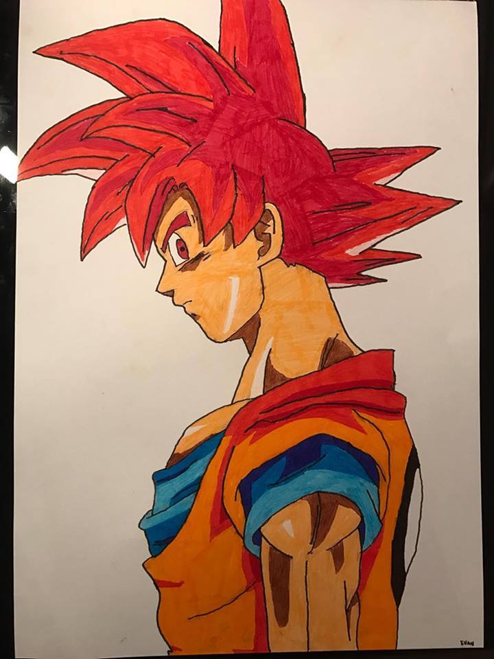Dessin Goku