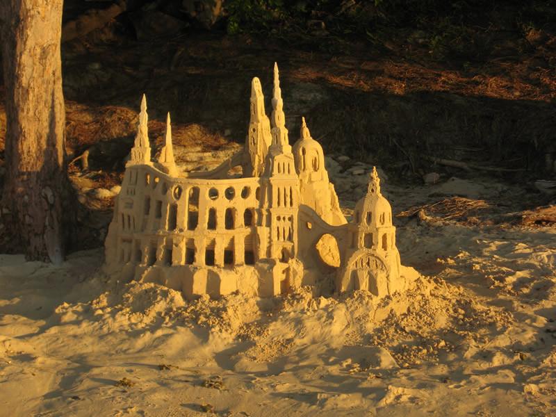 Châteaux de sable - île Maurice
