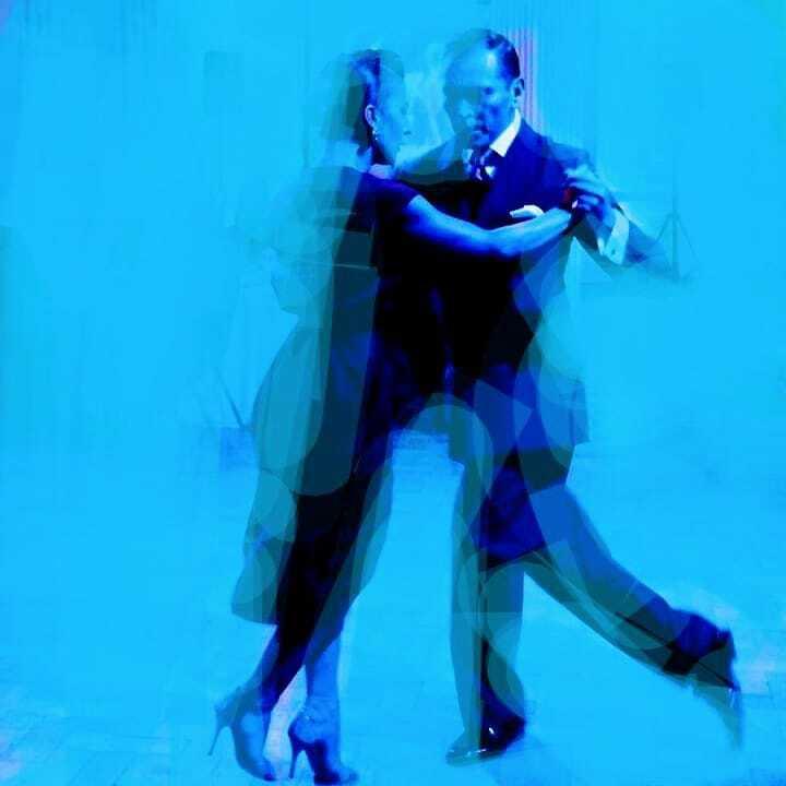 Tango azul