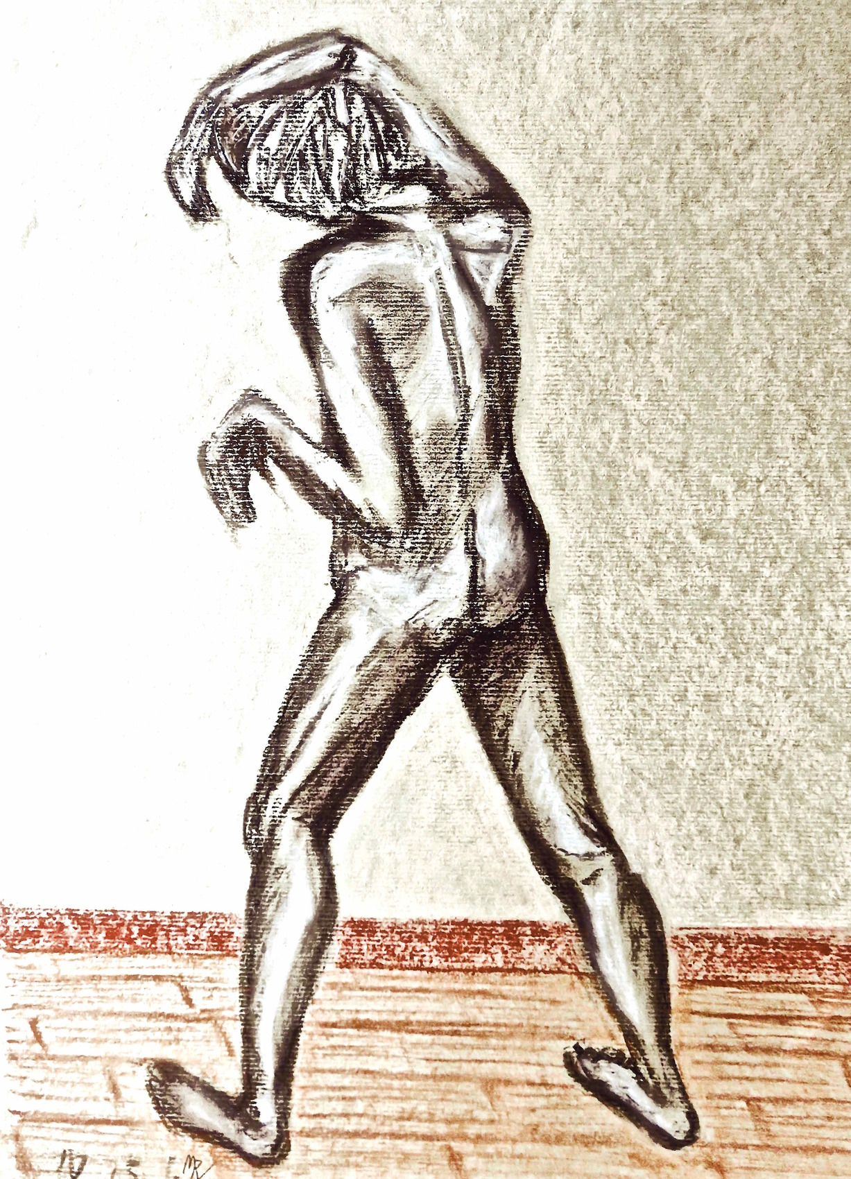 Dessin Homme Debout De Dos Jacques Drawing A Standing Man From Behind
