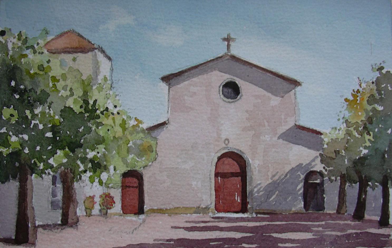L'Eglise de Loix en Ré