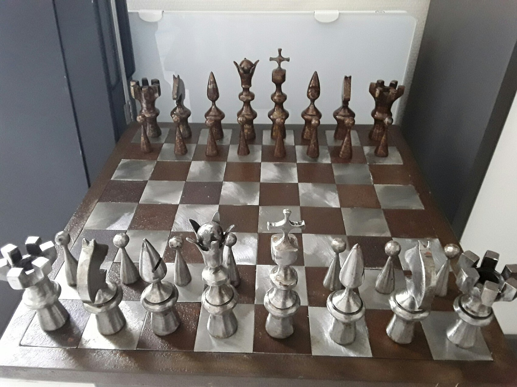 Metal chess