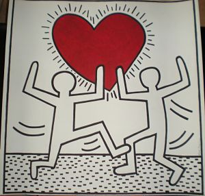 Hommage à Keith Haring