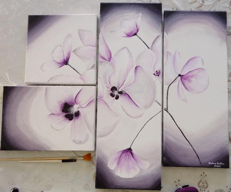 fleurs fictives